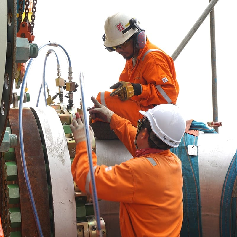 technical manpower for pipelay services